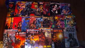 Lot (22)Marvel comics, Top Cow, DDP, DC, etc..