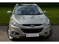 £0 DEPOSIT FINANCE (10)Hyundai ix35 2.0 CRDi 16v Premium SUV 4WD 5dr HUGE SPEC** 6 MONTH WARRANTY