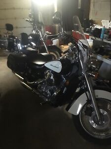 2007 Honda shadow low KM