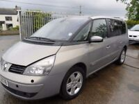 renault espace 2.2 parts from a 2005/6 car 2.2dci 6 speed