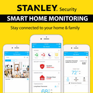 Free Stanley Security Alarm System! 6 months Free! $0 Upfront!