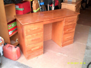 DESK SOLID WOOD