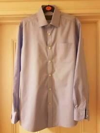 BHS Formal Shirts - Blue. 15.5 inch collar.
