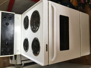 Summer clearance: Fridge and a Stove