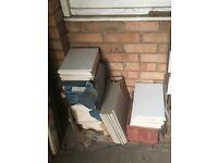 White Wall & Floor Tiles - Price is for ALL Tiles