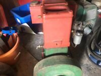 stationary engines, and trolleys wanted, reasonably cheap vintage engines