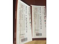 Hearts vs Dunfermilne Hospitality Tickets Saturday 29th July