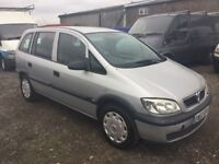 7SEATER VAUXHALL ZAFIRA DIESEL MPV GOOD DRIVER CAME IN PX TODAY ANY TRIAL WELCOME BLAVK CLOTH TRIM