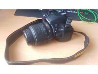DSLR Camera Nikon D5100 with 18-55mm lens. Original Packaging. PickUp Only