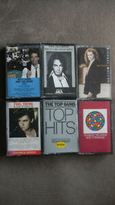 Rare 10 Original Cassette Tapes