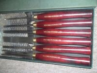 RECORD POWER RPCHS6 6 PIECE LATHE/SPINDLE TURNING TOOL SET