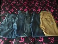 Men's joggers /jeans bundle size 38 /xl 3 joggers 5 jeans bargain £35