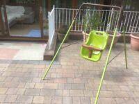 Indoor / outdoor swing