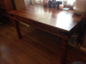 6 person dining table- Indian rosewood