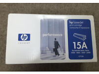 Original HP 15A Black Original LaserJet Toner Cartridge (C7115A) - New & Sealed in box