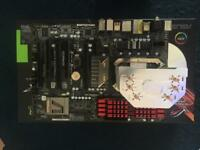 Motherboard, Processor, Ram. Cooler bundle