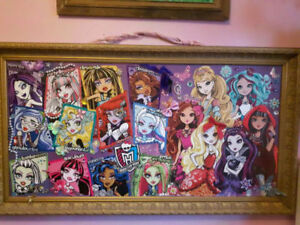 Monster & Ever After High Poster