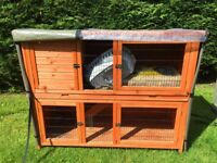 Rabbit/Guinea pig hutches and accessories for sale including water bottles, , straw Hutch cover ...