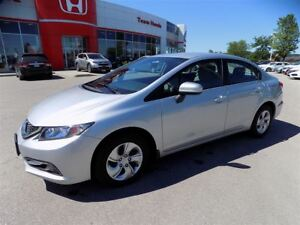 2015 Honda Civic LX.. REAR VIEW CAMERA.. ONLY 19,841KM NO ACCIDE