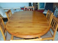 Yew Dining Room table