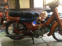 Yamaha v50m 1975 project LOOK