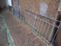 "Driveway Gates total width 3.56m (11' 8"" approx) need a paint"