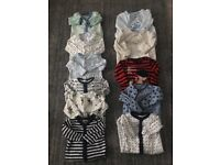 Bundle of baby sleep suits 0-3 months