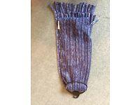 Blue M&S scarf