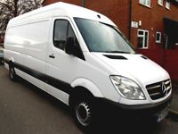 BIG VAN AND DRIVER AVAILABLE TODAY