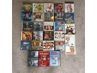 86 DVDs/VCDs Collection