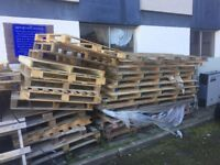 20 timber pallets