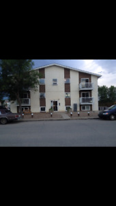 Large 2 bedroom upper floor suite adult/senior building for rent