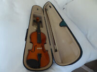 Violin 3/4 size with Bow and Case