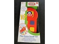 Brand new little tikes play dough phone