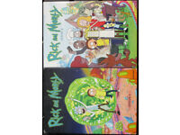 Rick and Morty season 1&2 (region 1 US)