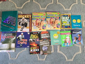 So many kids books for all ages!Guinness,Lego,minecraft...