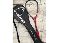Head Power 195 Squash Racket Janser Khan Performance Series