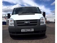 Ford Transit Van 2.1 125 T350-1 Owner-EX BT, 65K Miles ,FSH -8 Stamps, 1YR MOT,Elec Windows