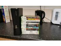 Xbox 360 4gt With controller and 13 Games
