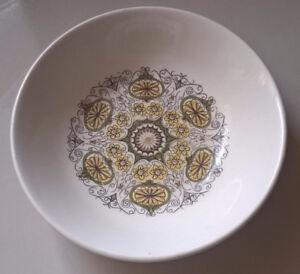Vintage Ridgway Galaxy Staffordshire Ironstone Fruit Bowl