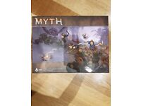 Myth Board Game + 1 & 2 quest expansion + item expansion + rats with rat king