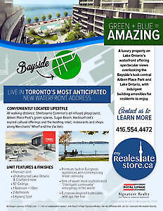 EXCLUSIVE ASSIGNMENT SALE FACING LAKE ONTARIO