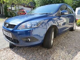 Ford Focus Zetec Petrol 1.6 2008, 11 months MOT New tyres and brakes. Reliable.
