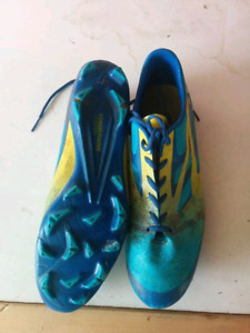 soccer cleats and men dress shoes