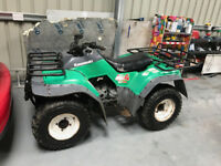 Kawasaki KLF400 4 Stroke Quad 4WD with Reverse Electric Start Water Cooled
