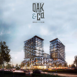 Oak & Co Condos From the $300's – VIP Launch Aug 26 !