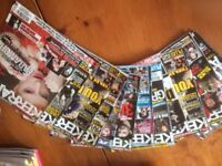 Kerrang! magazines, mainly 2009/10, 13 in total