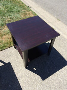 Different size of coffee table from $5 to $10