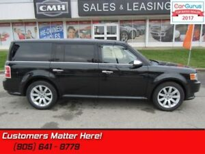 2011 Ford Flex Limited  LEATHER, NAV, DVD, POWER-GATE, HS, 7-PAS