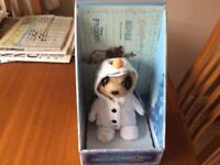 Limited Edition OLEG as OLAF Frozen Meerkat Soft Toy